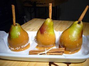 Sea Salted Caramel Pears