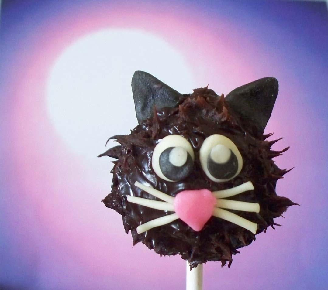 Black Cat Truffle Pops
