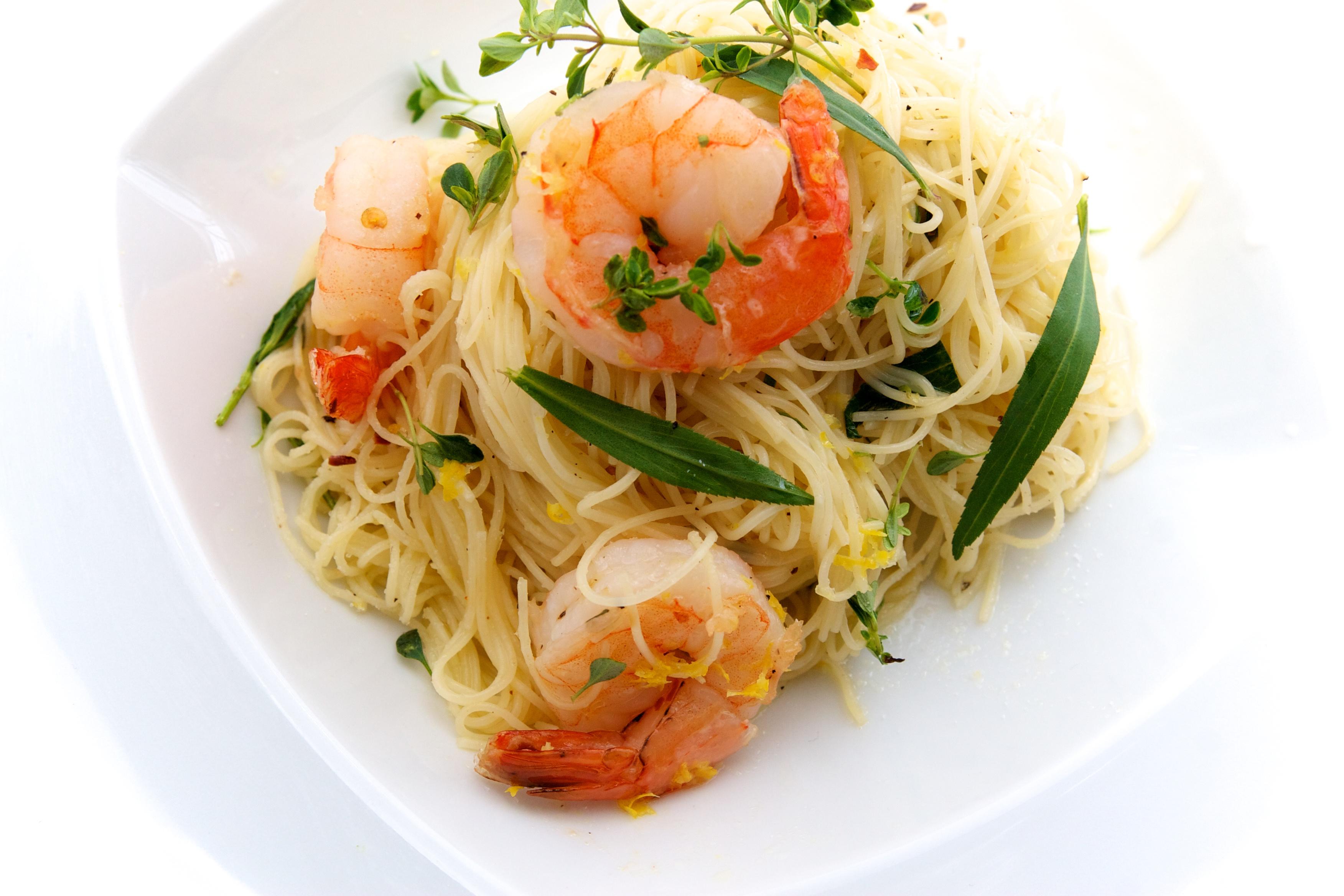 Fresh Pasta With Prawns And Lemon Oil Recipes — Dishmaps