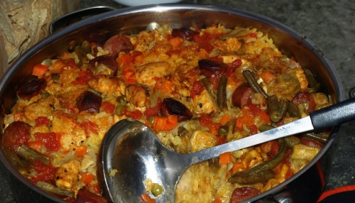 Paella Manantiales Calientes