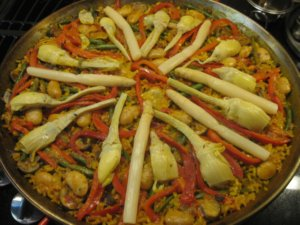 Vegetabel Paella
