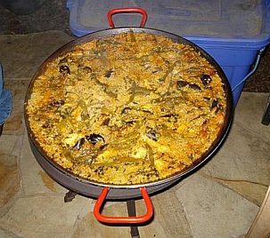 Mama and Papa&#x27;s Paella from Pieds Noir Country!