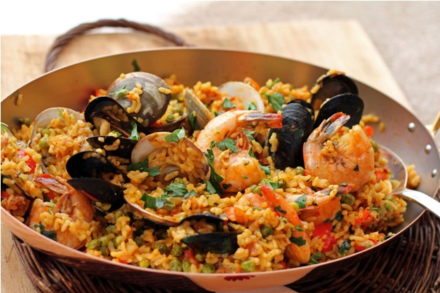 Spicy Andalusian Seafood Paella Recipe on Food52