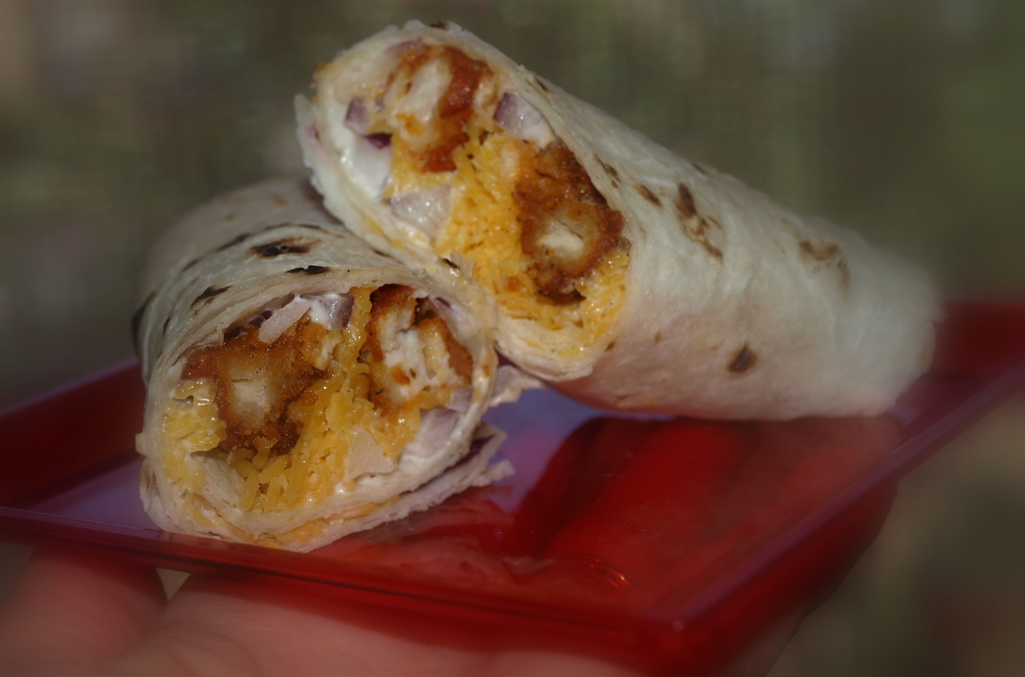 Buffalo Ranch Chicken Wrap