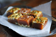 Salted Pumpkin Caramels