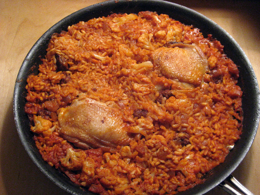 Moorish Paella