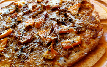 Curried Butternut Squash Pizza
