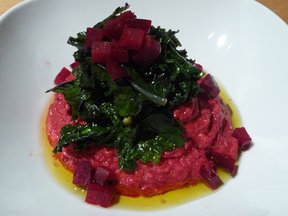 Beet_puree_with_greens_101409