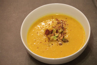 Butternut Squash &amp; Pear Bisque