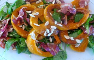 SPICY BUTTERNUT SALAD