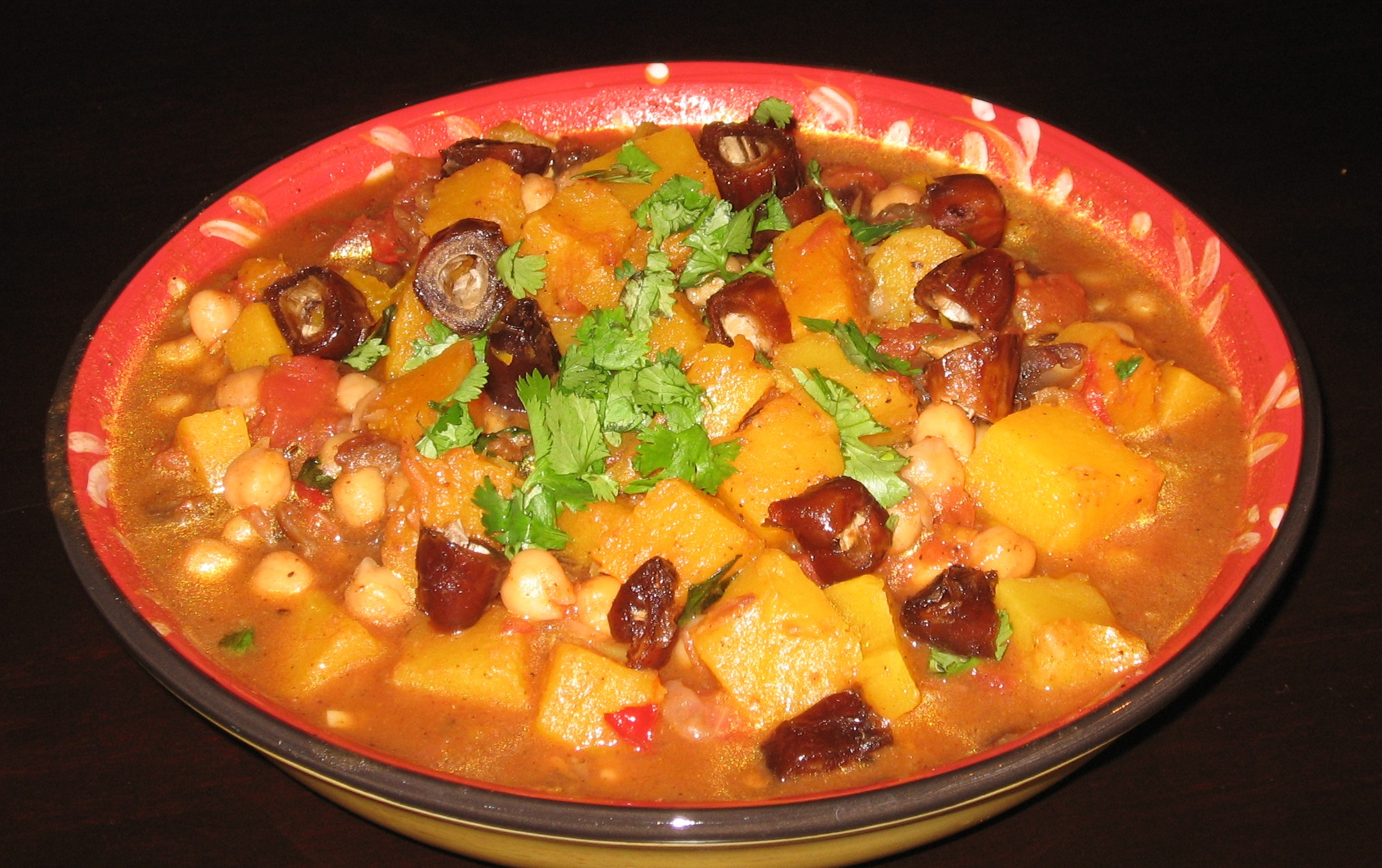 Moroccan-style Butternut Squash 