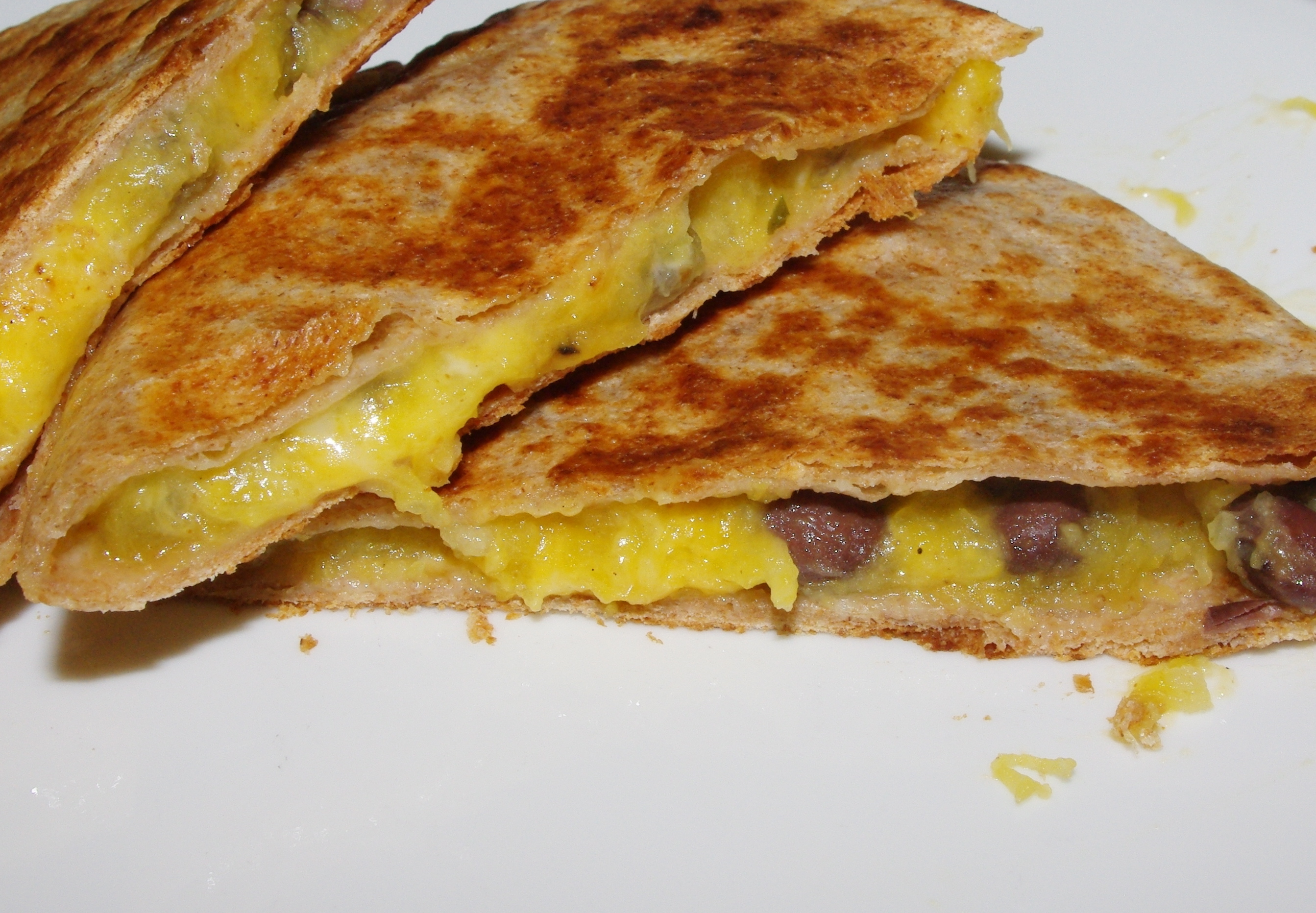 Butternut Black Bean Quesadilla