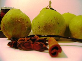 Spiced Quince Sundaes