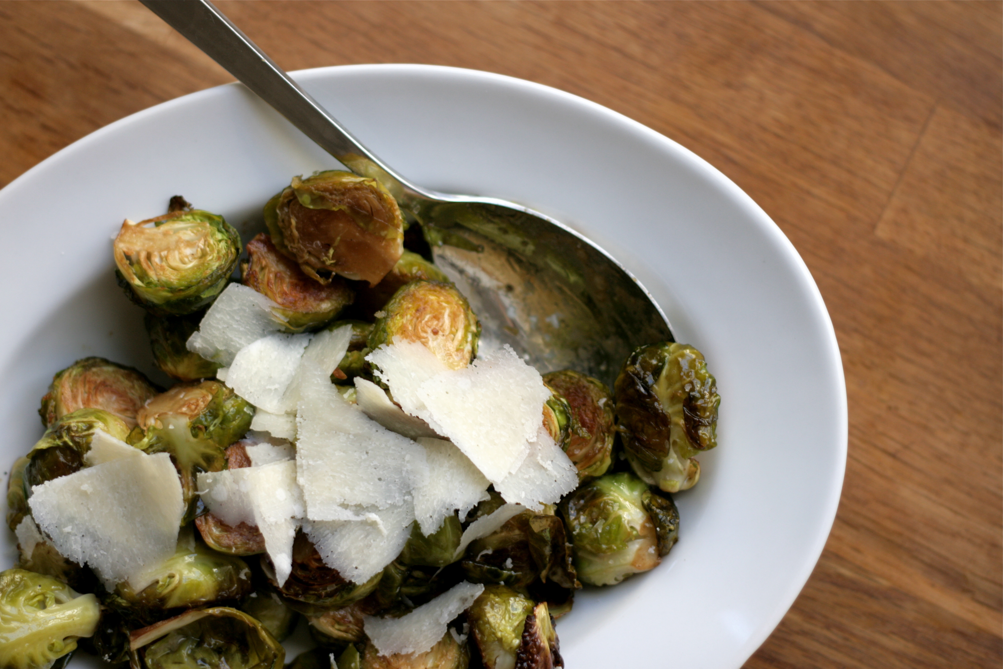 Balsamic Roasted Brussels Sprouts with Mustard Vinaigrette recipe on ...
