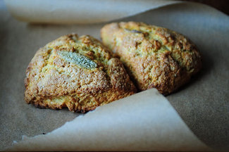 Butternut Sage Scones
