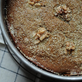 Mixed Apple Pie with Hazelnut Crumb Crust and Maple Cream Recipe on ...