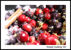 Cran-Blueberry Sauce