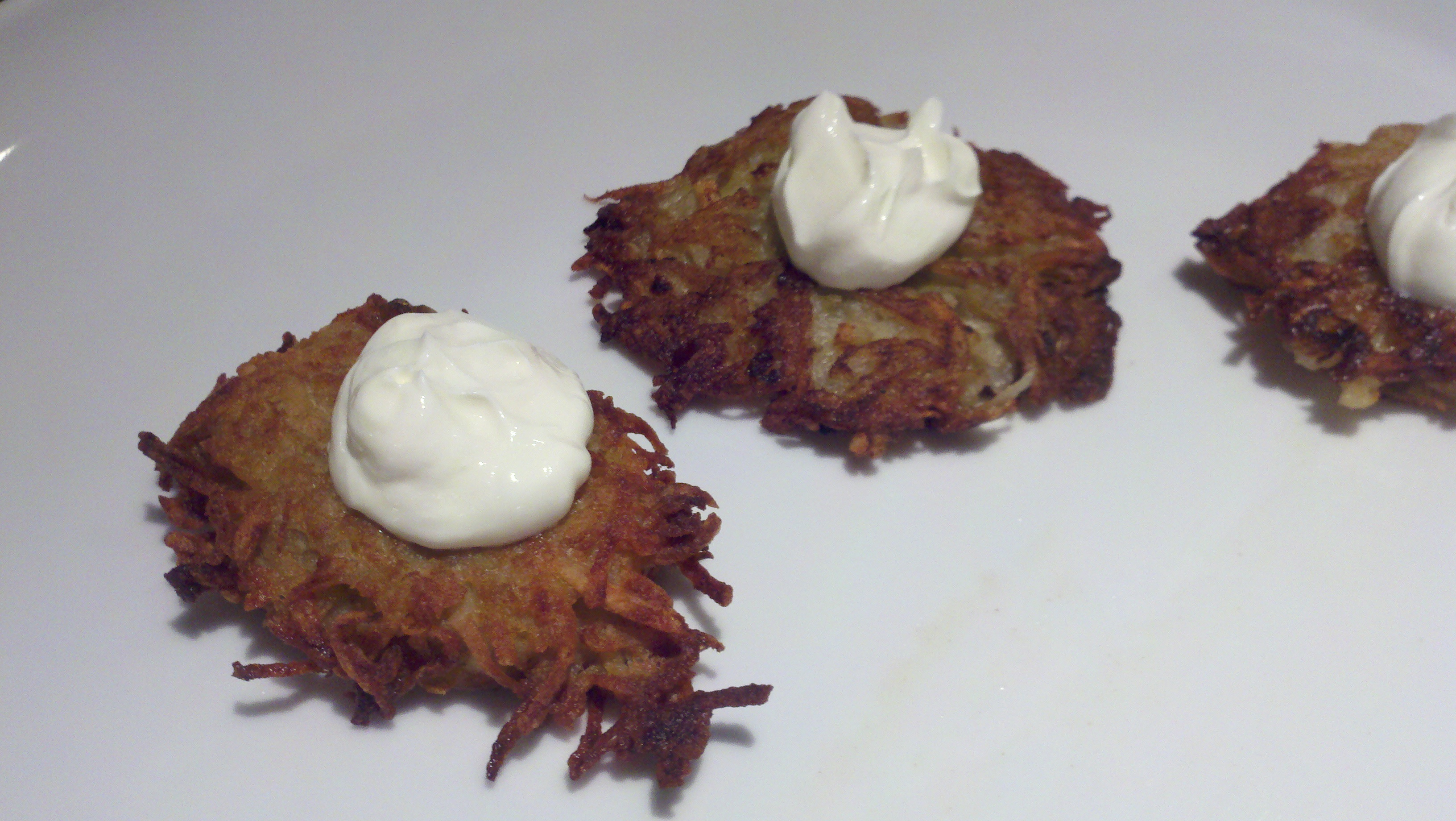 Not my mother's latkes