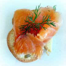 Salmon Gravlax