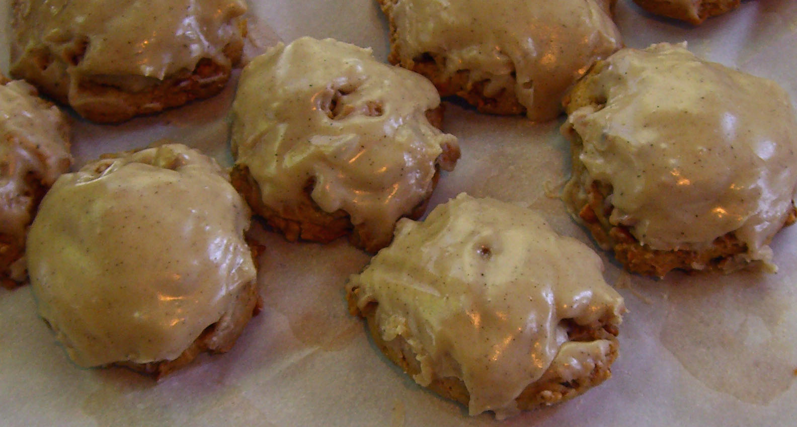 Toasted Cashew Cookies with Browned Butter Frosting