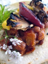Peachy_chili_bean_taco_cilantro_2