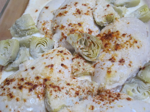 Lemon Artichoke Chicken
