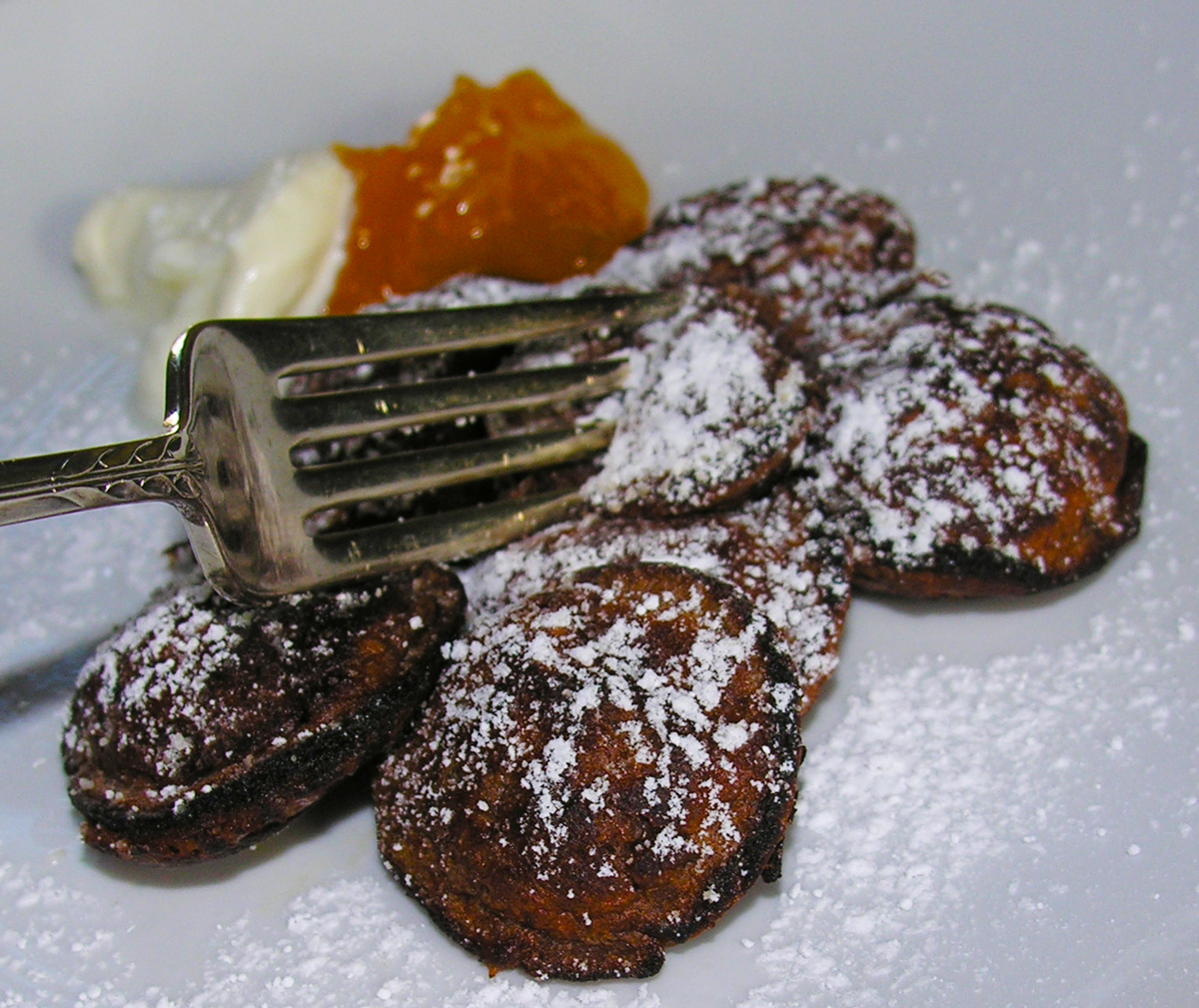 Dutch Chocolate Poffertjes