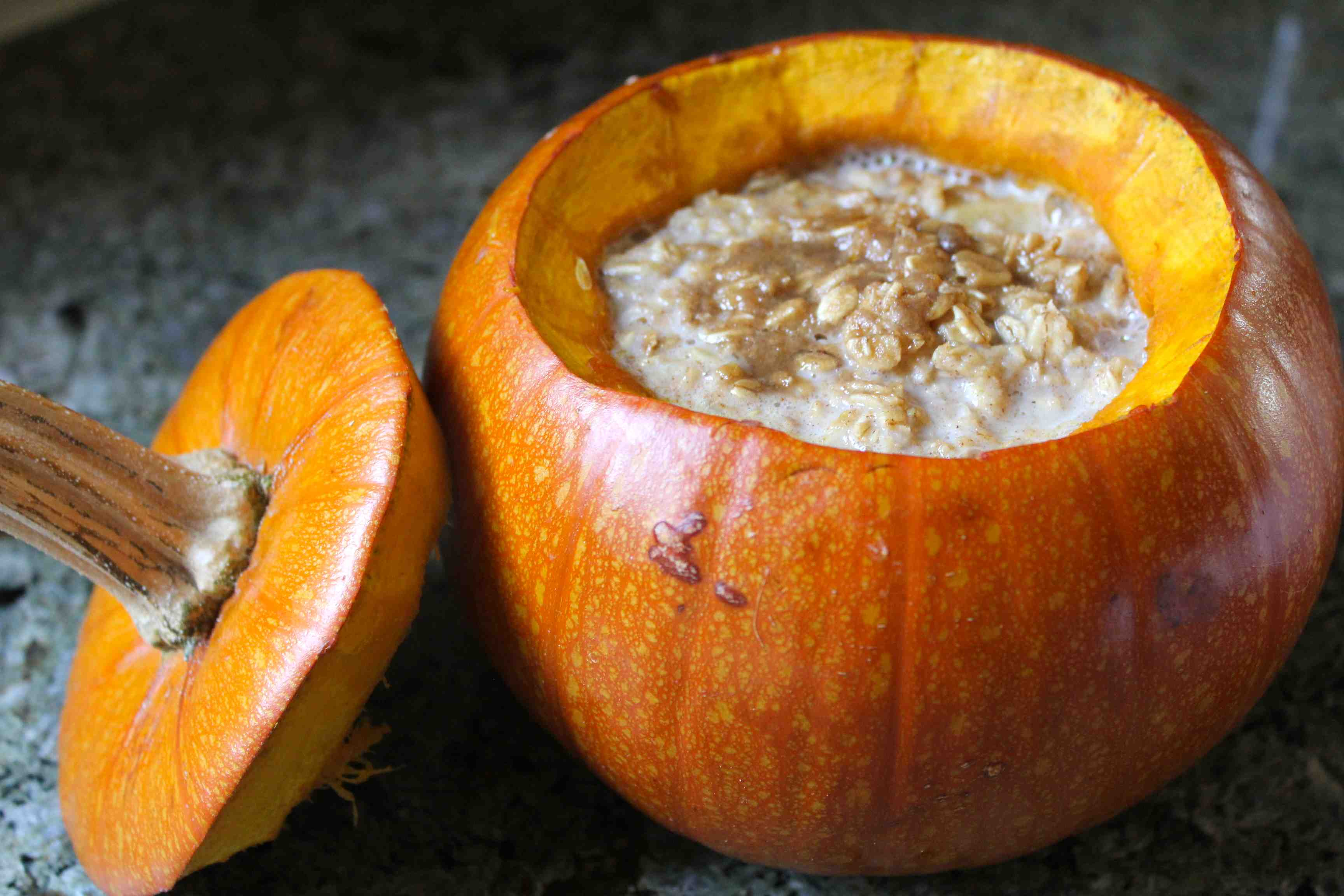 Whole Baked Pumpkin Oatmeal Recipe on Food52
