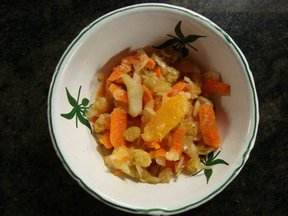  Fennel Slaw with 3 C&#x27;s: Carrots, Clementines, and Cucumbers
