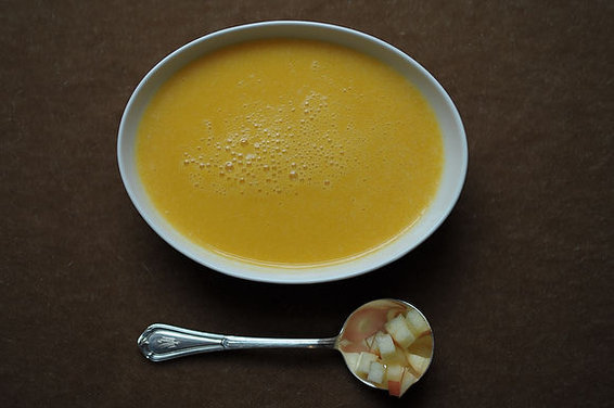Butternut Squash and Cider Soup: 1993