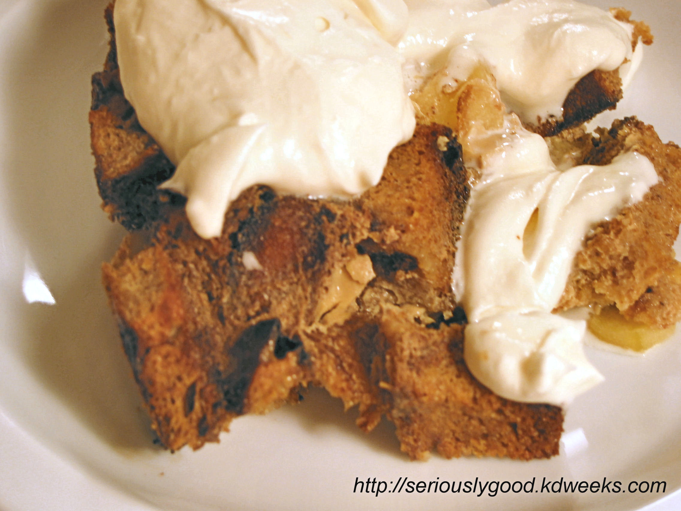 Irish Bread Pudding