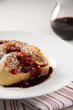 French_toast_with_pomegranate_syrupbc