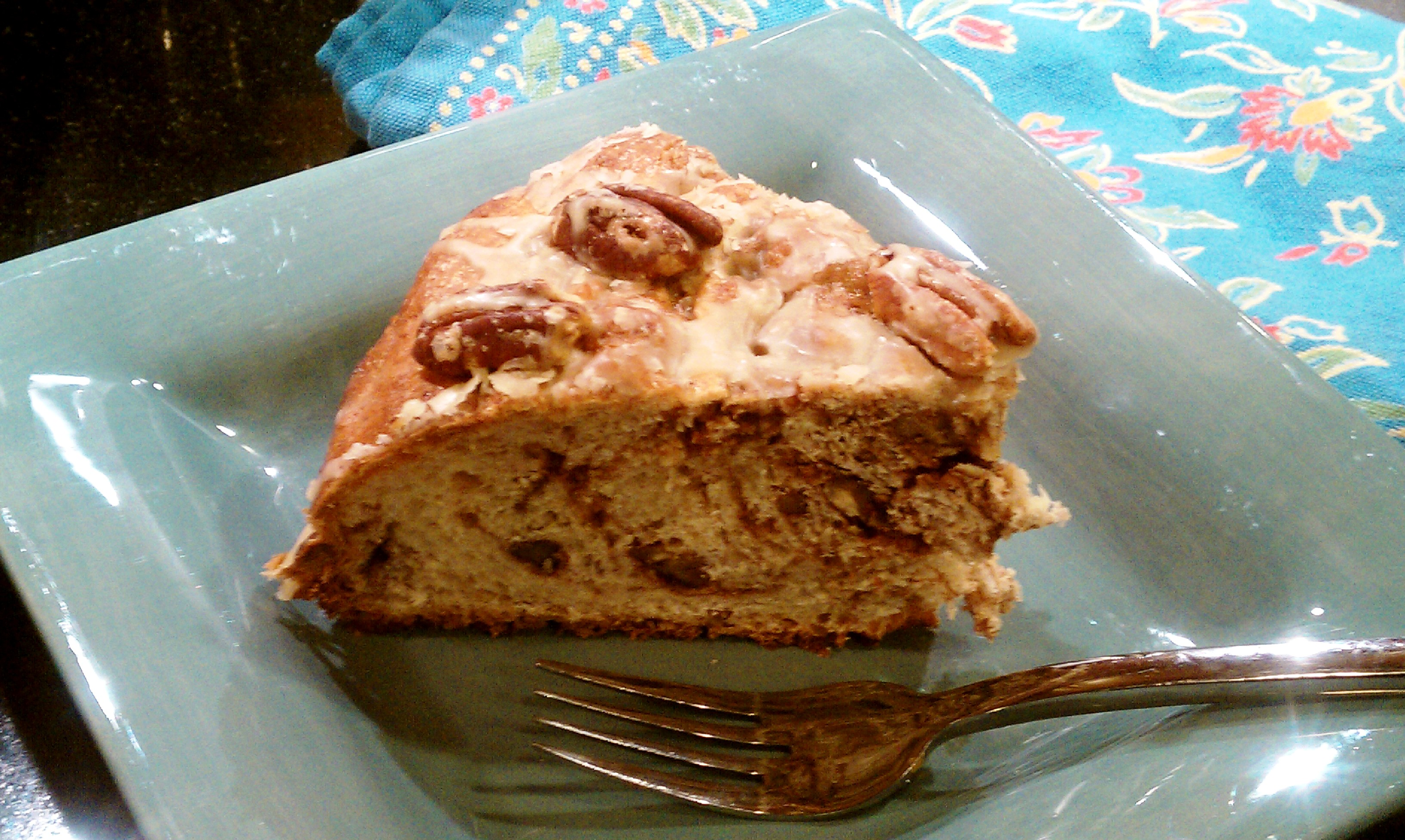 Spicy Chocolate- Pecan Coffee Cake