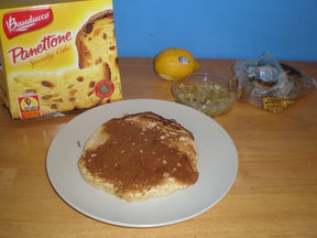 Panettone Pancakes