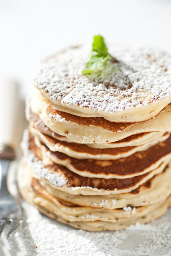 Heavenly Buttermilk Pancakes