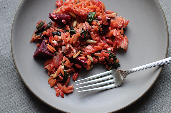 Warm Orzo Salad on Food52