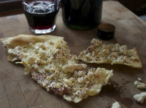 Sardinian Flatbread with Feta and Za&#x27; Atar