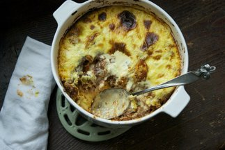 Pane Carasau and Lamb Deep Dish Lasagna