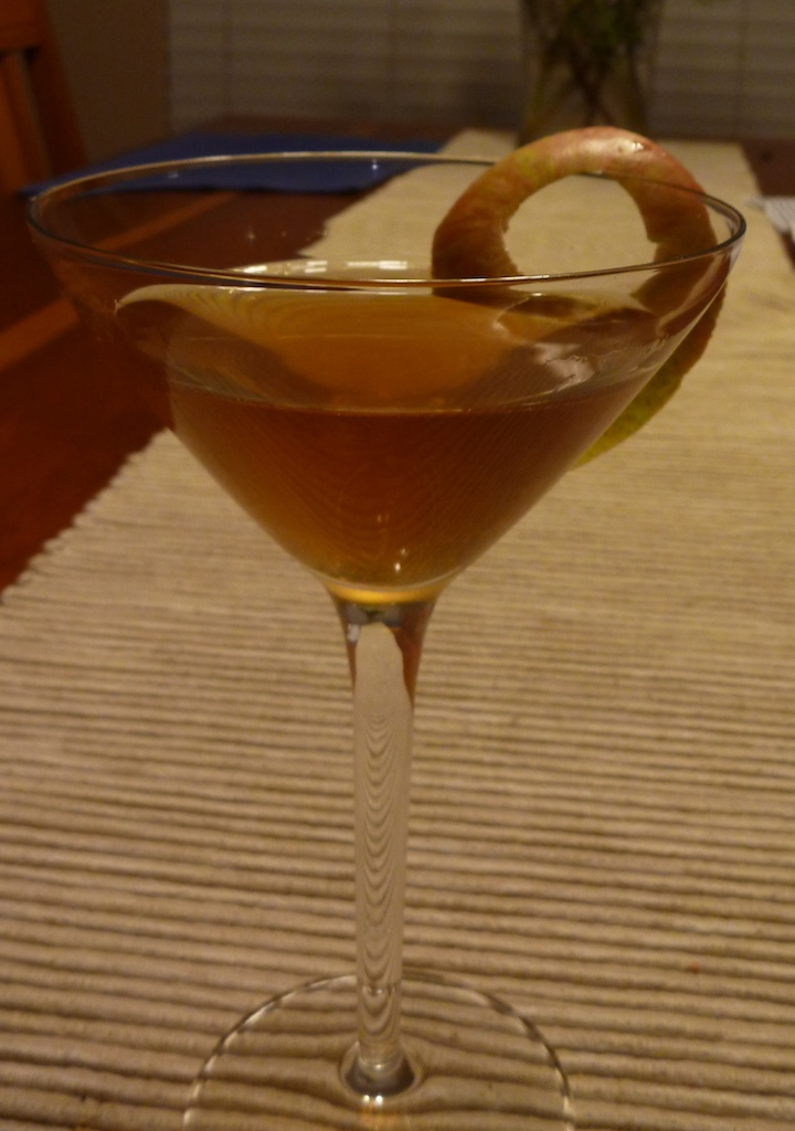Warm Ginger Appletini