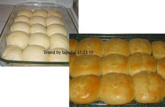 Crusty Dinner Rolls