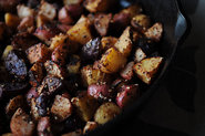 A Medley of Roasted Potatoes with Homemade Za'atar & Aleppo Pepper