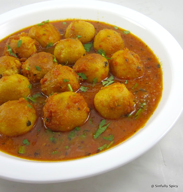 Curried Lentil Balls