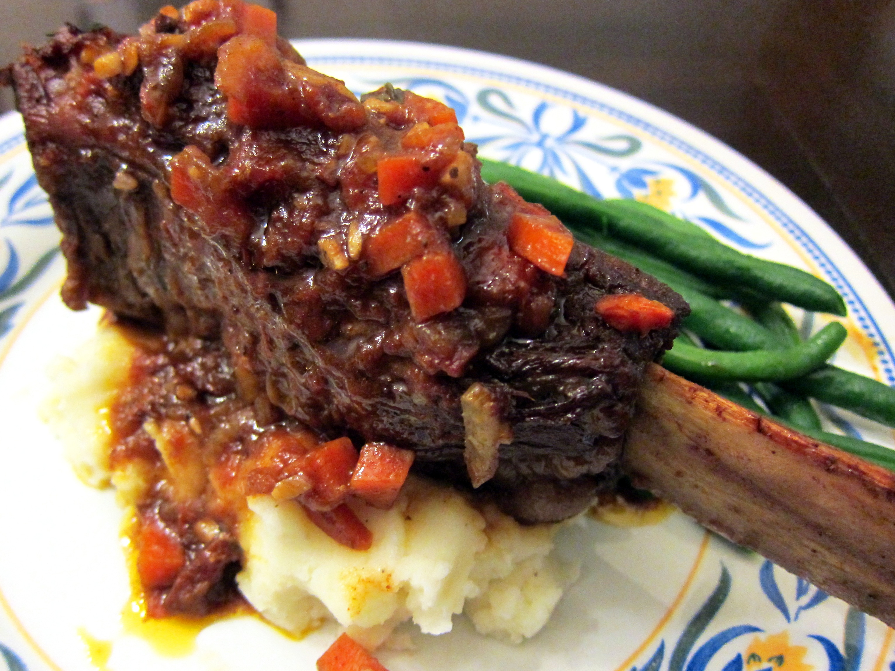 Smoky Beer-Braised Short Ribs