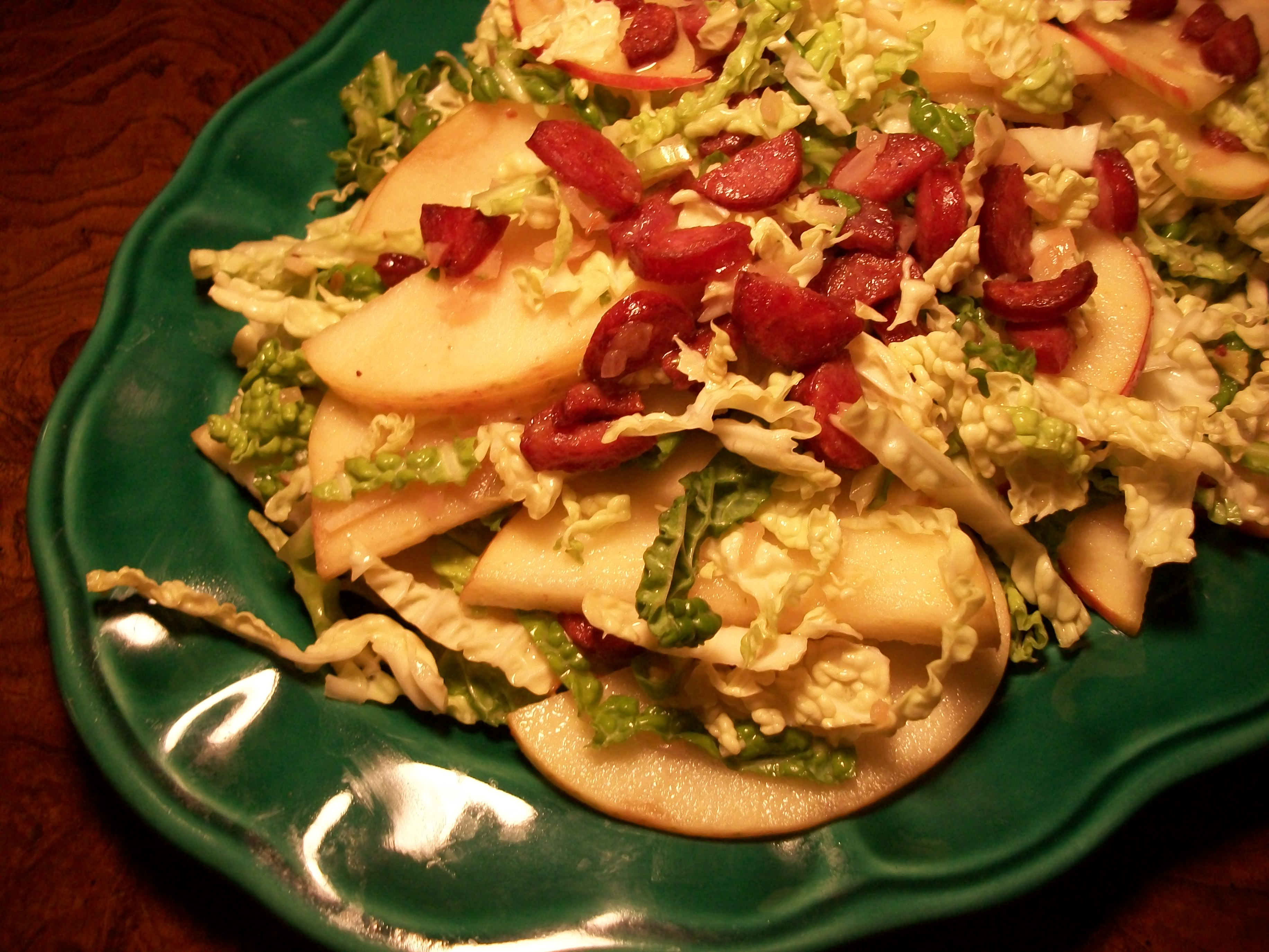 Polish Apple and Cabbage Salad