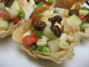 Mung Bean and Green Apple Chaat