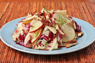 Fennel, Radicchio and Apple Salad
