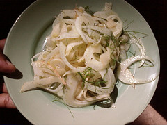 Apple Fennel Salad with Sherry Vinaigrette