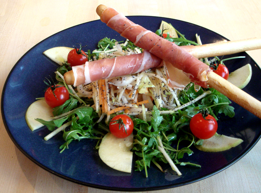 Apple and Prosciutto Salad