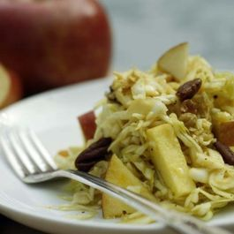 Apple-and-cabbage-salad-with-apple-molasses-dressing-550x366