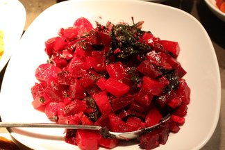 Double beet salad 